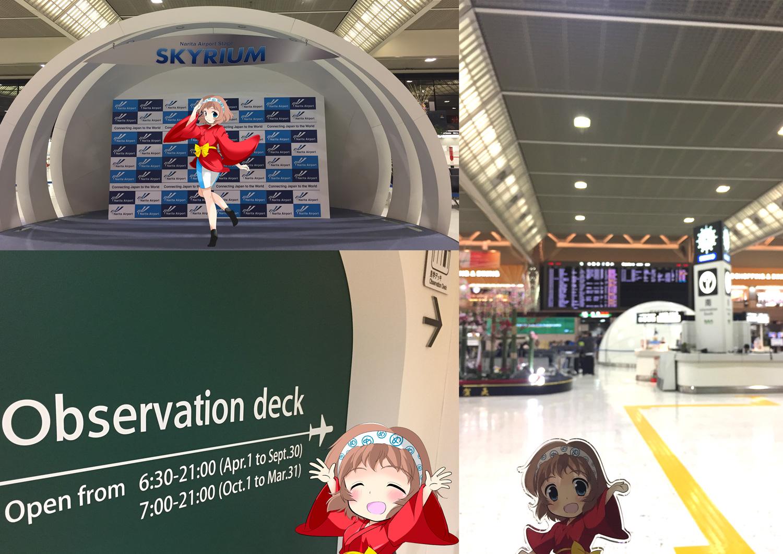 めっとこ 成田空港 旅