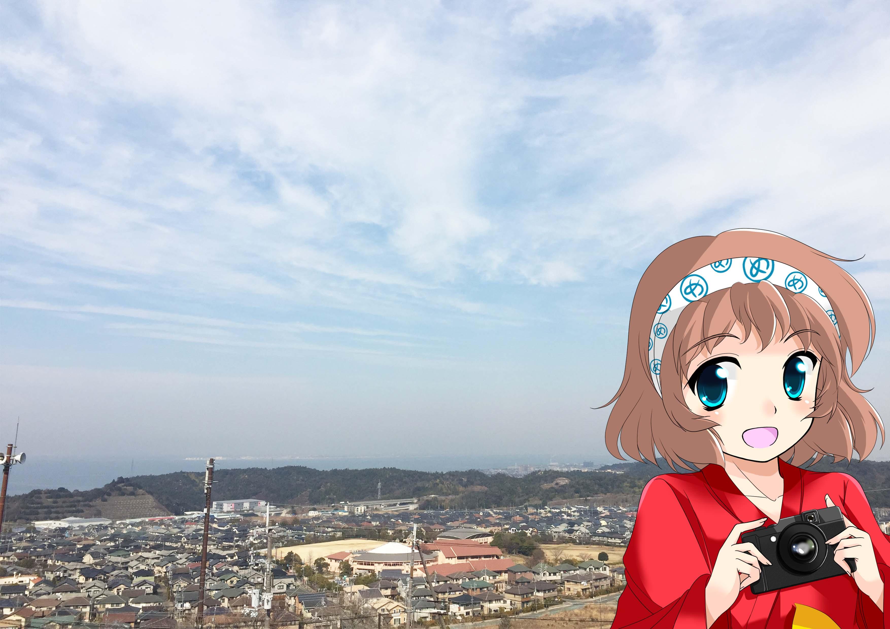めっとこ 阪南市観光 阪南スカイタウンからの眺望